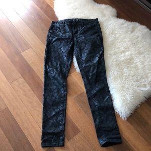 Pants - Black pattern pants 👖